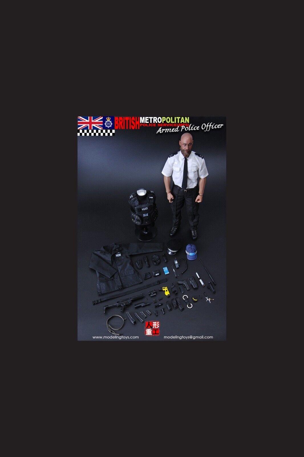 - action - figur 1   6 12  metropolitan polizei drachen cyber - heißes spielzeug 9002