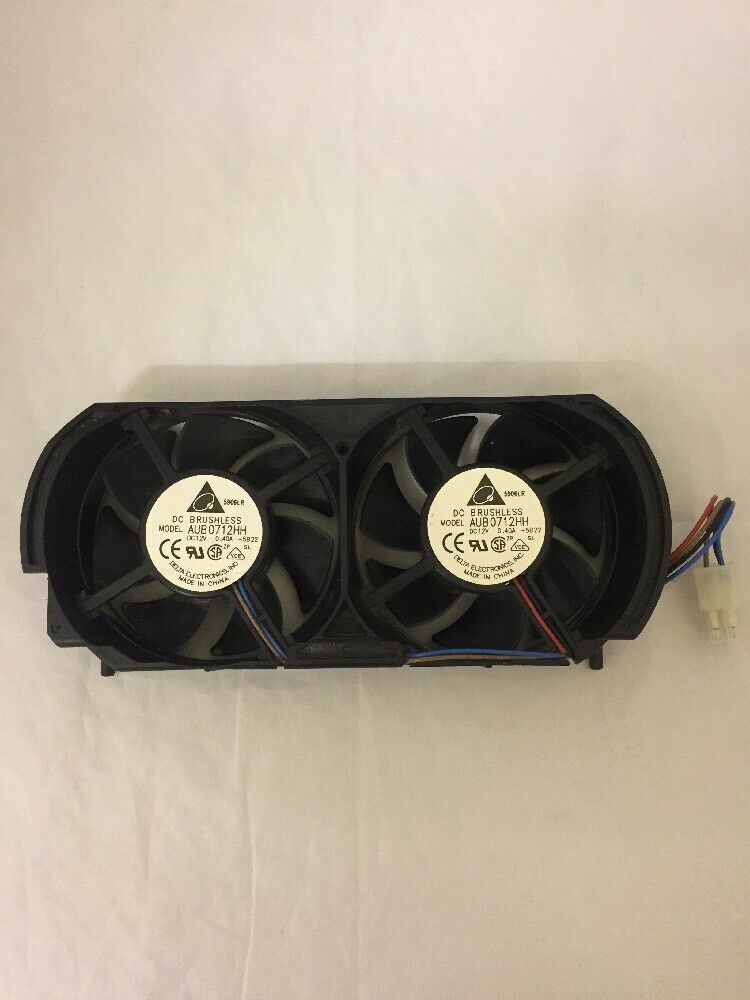 XBOX 360 original official replacement Delta 4 pin twin cooling fans AUB0712HH