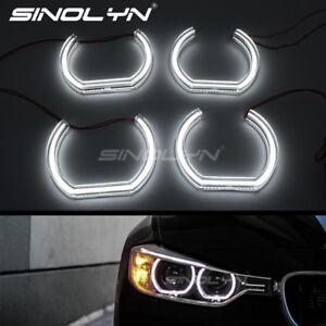 Acrylic-7000K-LED-Angel-Eyes-Halo-Rings-For-BMW-E60-E90-E91-E82-E87-Retrofit
