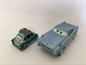 Cars 2 Finn Mcmissile And Professor Z Diecast Toy Car 1 55 Loose Kids Toys New Ebay