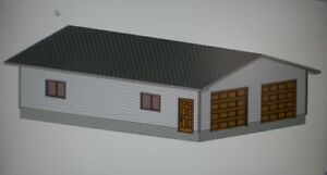 28-039-X-40-039-GARAGE-PLANS-WITH-ENGINEERED-JOB-SITE-BLUEPRINTS-AND-A-MATERIALS-LIST