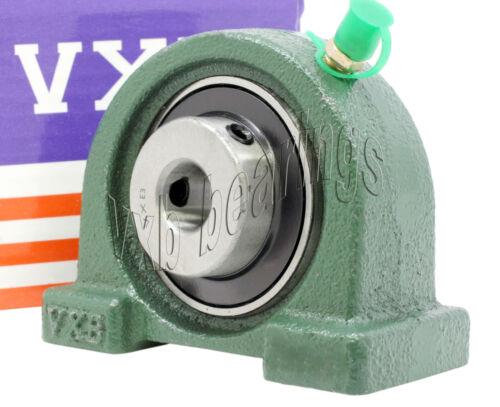 """UCPA205-14 Bearing 7//8/"""" inch Set Screw Locking Tapped Base Pillow Block Bearings"""