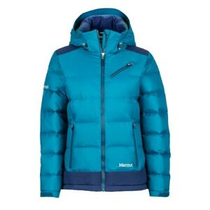 Details about Marmot down Jacket Womens Sling Shot Jacket, Late Night Arctic Navy