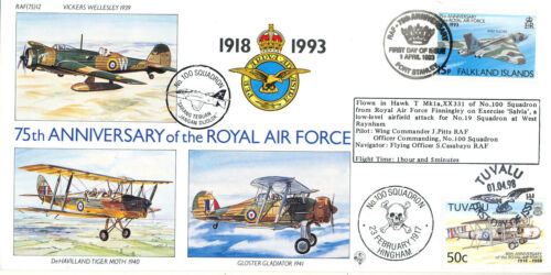 75th Anniverary of the RAF - RAF (75) 12 - No. 100 Squadron - 100 Only !