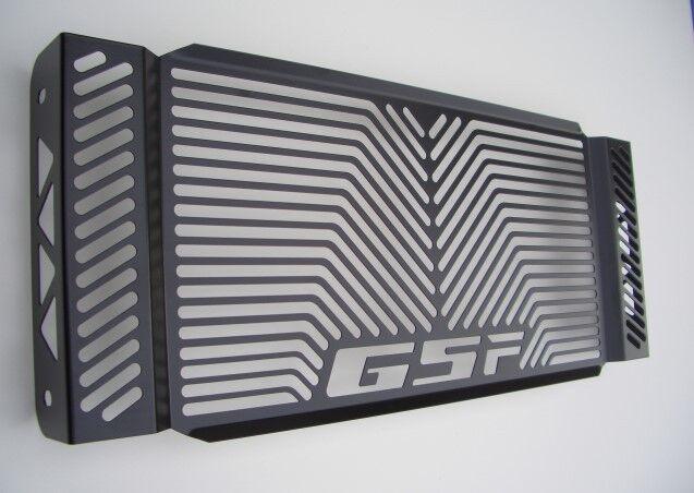 Suzuki GSF 650 Bandit Kühlerabdeckung Wasserkühlerabdeckung black Logo ab Bj.07-