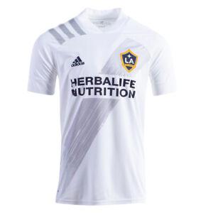 adidas-Men-039-s-LA-Galaxy-Home-2020-Jersey-White-Grey-EH6523