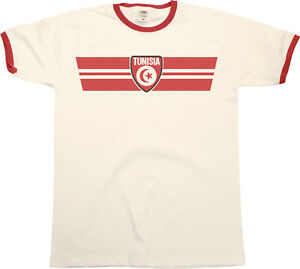 3b6933d2d89 Free postage. Image is loading Mens-TUNISIA-Football-T-Shirt-Africa-Cup-of-