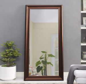 Large Full Length Mirror Oil Rubbed Bronze Wall Hang Leaner Bedroom ...