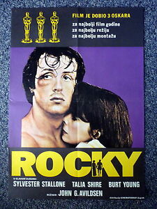 ROCKY-Rare-Original-One-Sheet-Movie-Poster-Different-Artwork-Sylvester-Stallone