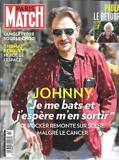 PARIS MATCH BELGIQUE--JOHNNY JE ME BATS/PAOLA LE RETOUR/THOMAS PESQUET