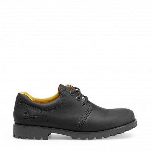 Schuhe Jack Panama Halbschuhe Napa schwarz Grass Leder