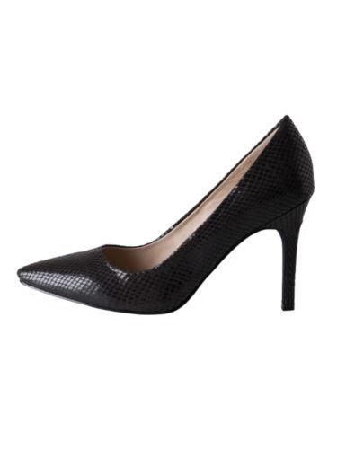 Pieces Femmes Escarpins CH Valerie Pump Snake 17068893 Noir