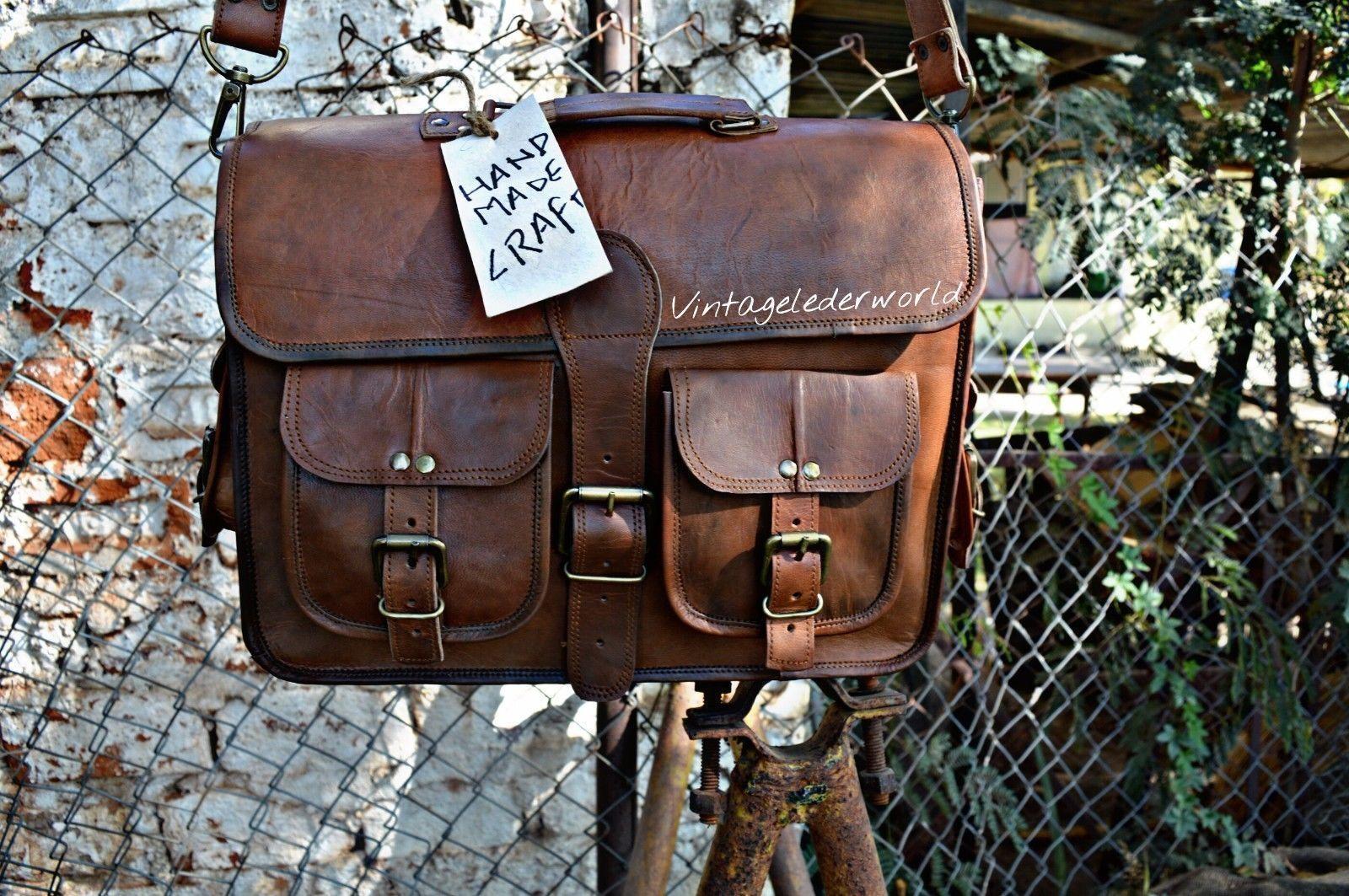 Laptoptasche Messenger Umhängetasche Laptop Laptop Laptop Leder Herren Damen Vintage Quist Bag      Sale Deutschland  da3e04