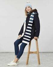 Joules Womens Chillaway Stripe Knitted Scarf - PINK MULTI STRIPE in One Size