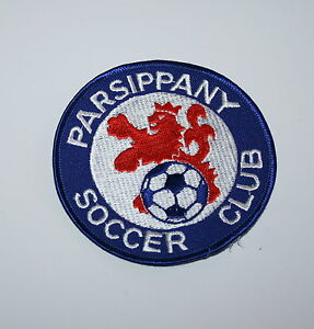 Details about 3 Soccer Team Parsippany Soccer Club New Jersey 1990s Blue  Lion Patch New NOS