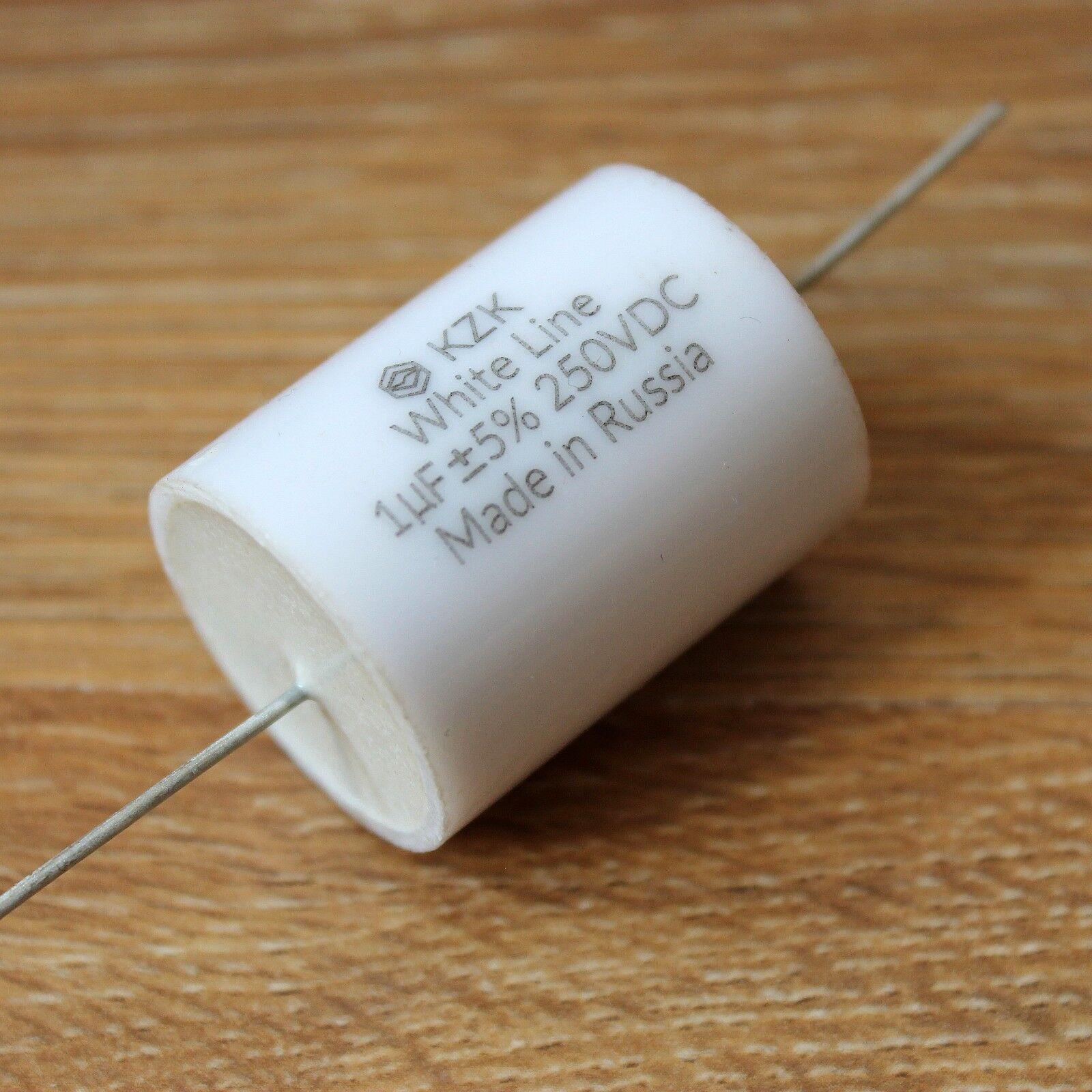 OC Hi-End AUDIO Polystyrene capacitors K71-4 RARE!!! 1uF 250V MATCHED PAIR OS