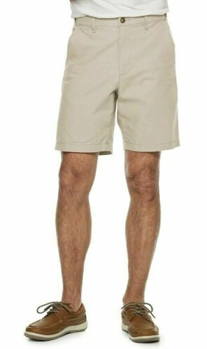 NEW MENS CROFT /& BARROW LINEN BLEND FLAT FRONT NOLAN BEIGE CASUAL SHORTS $36