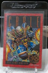 SKYBOX 1993 X-Men Series 2 CABLE 30th Anniversary Gold Foil Card