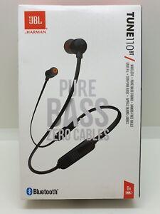 Details about JBL T110BT Headphones - Black Wireless In-Ear Headphones
