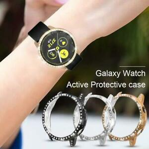 Smartwatch-TPU-Frame-Case-Diamond-Protector-Cover-for-Samsung-Galaxy-Active