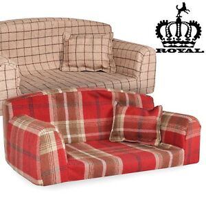 ROYAL-PET-SOFA-New-Style-3-sizes-Dog-Bed-High-Quality-Cover-Material-UK