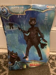 with defect Details about  /Child Kids How to Train Your Dragon Toothless Costume SIZE S