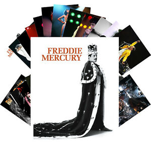 Postcards-Pack-24-cards-Freddie-Mercury-Roger-Taylor-Queen-Rock-Band-CC1233