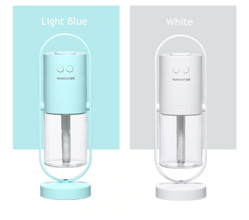 LED Ultrasonic Humidifier Aroma Diffuser Cool Mist Air Purifier Home Room Office