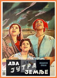 Details about Do Bigha Zamin Bollywood Movie Posters Vintage Classic &  Indian Films