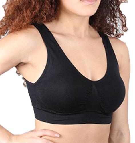 Damen Sport BH Bustier wohlfühl Unterwäsche atmungsaktiv Top Bra Vakuumbeutel