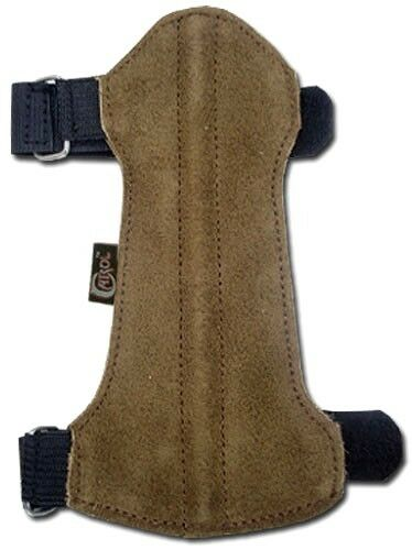 15cm LONG X 7cm WIDE CAROL TARGET ARCHERY ARM GUARD SUEDE LEATHER AG214B .