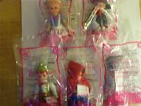 Mcdonalds Toy Collectable Madame Alexander Dolls 1,2,6,7,8