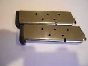 1911-type-mag-magazine-mags-2-1-4-034-Removable-base-Stainless-8-shot-USA-45