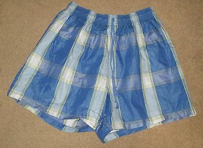 Check Blu Thomas Dobo Swim Pantaloni Corti Taglia Xxl. Eccellente.-