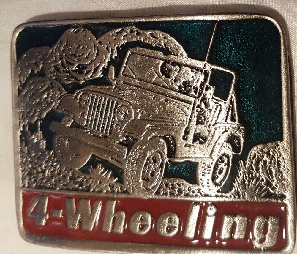 Off Road Buckle Gürtelschliesse/ 4-Wheeling / original USA 2042