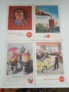 1950s Coke Print Advertising Vintage art Coca Cola vintage print ad 7x10 Pick