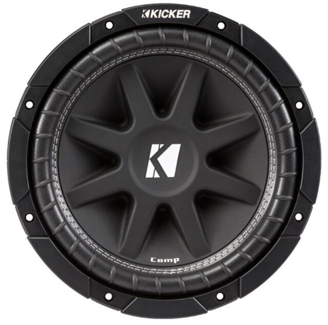"NVX NSW124V2 350 Watt RMS 12/"" inch N-Series Dual 4-Ohm Car Audio Sub Subwoofer!"