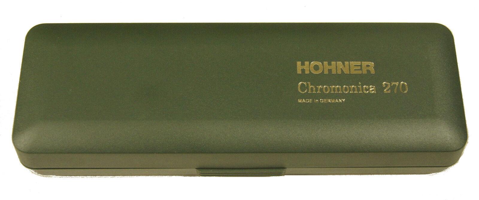 Armónica Cromática Hohner Super Chromonica 270 48, 48, 48, C, D, E, F, G, A, B, Bb, C Bajo b9e2e1