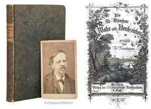 Trautmann-Original-Photo-amp-Alt-Munchner-Wahr-und-Denkzeichen-1864