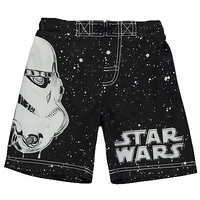 Disney Star Wars Boys/' Swim Board Shorts