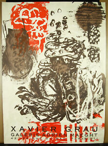 Xavier GRAU MASIP (1951) 1988 Adrien Maeght Galerie Afficher originale 69 cm