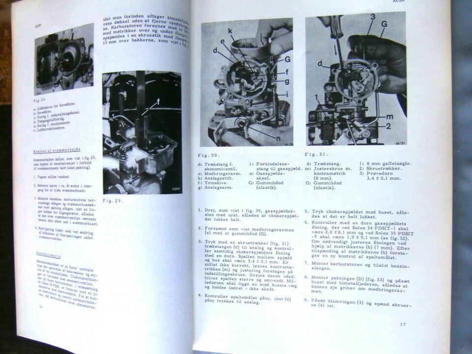 Reparationshåndbog, Audi 1965-67