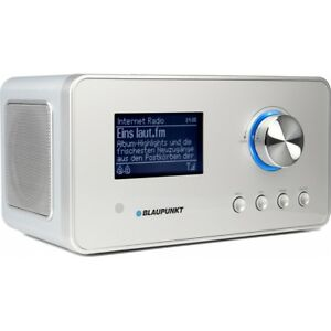 Blaupunkt-IRD-30-DAB-Radio-Internetradio-silber-Radiowecker-WLAN-WiFi-UKW