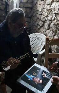 Rara-Foto-autografata-Flavio-Bucci-Signed-Photo-Autografo-Cinema-ESCLUSIVA