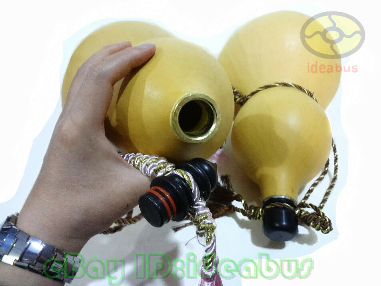 """Potable Natural Real Dried Wine Bottle Gourd Type decor ornaments 15/""""~16/""""tall"""