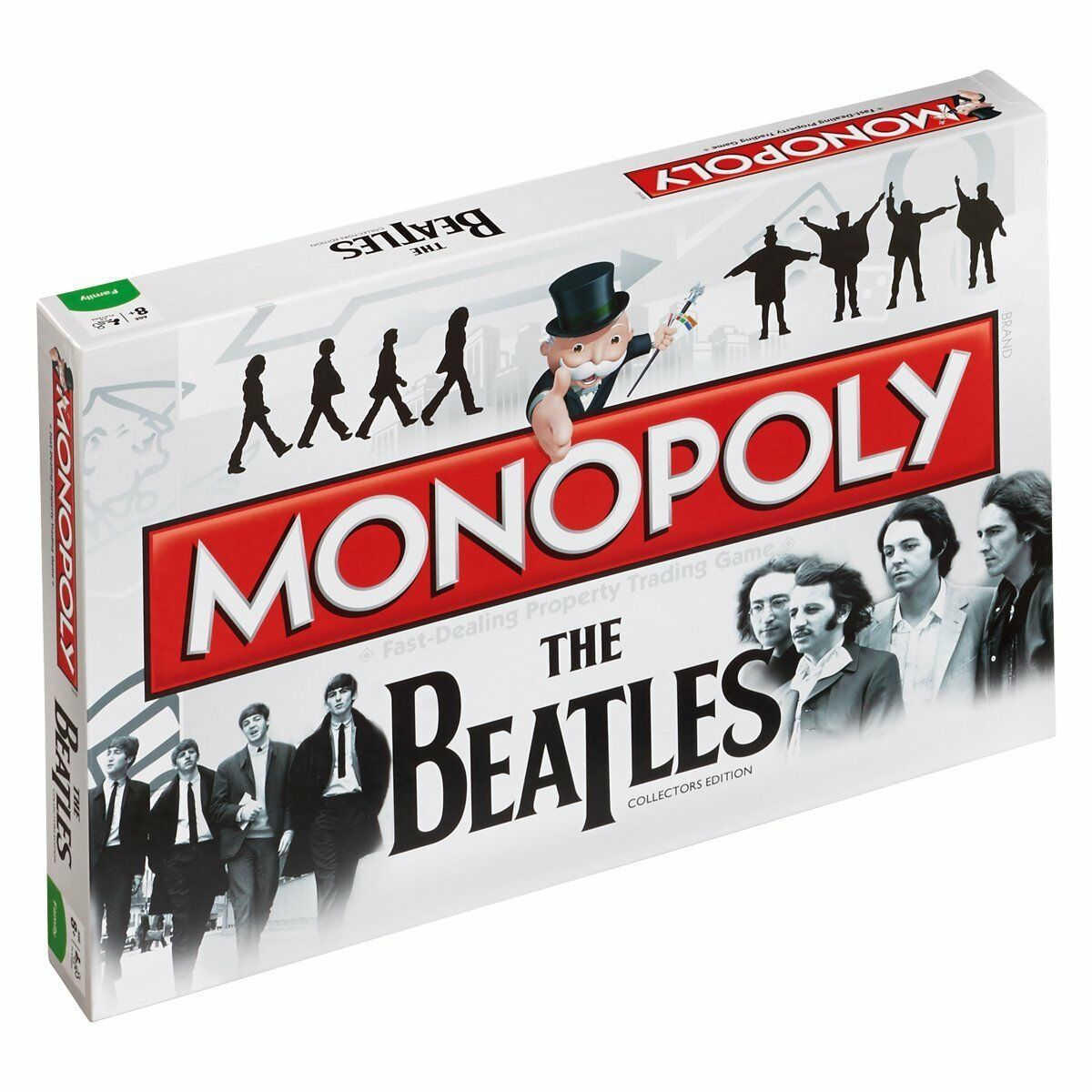 OFFICIAL THE BEATLES MONOPOLY TRADITIONAL TRADING BOARD FAMILY GAME