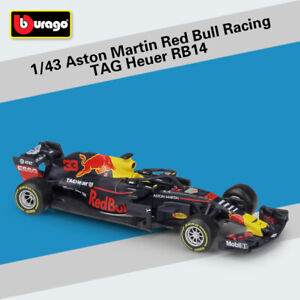 NEW-1-43-ASTON-MARTIN-RED-BULL-RACING-TAG-HEUER-RB14-3-DIECAST-DIE-CAST-MODEL