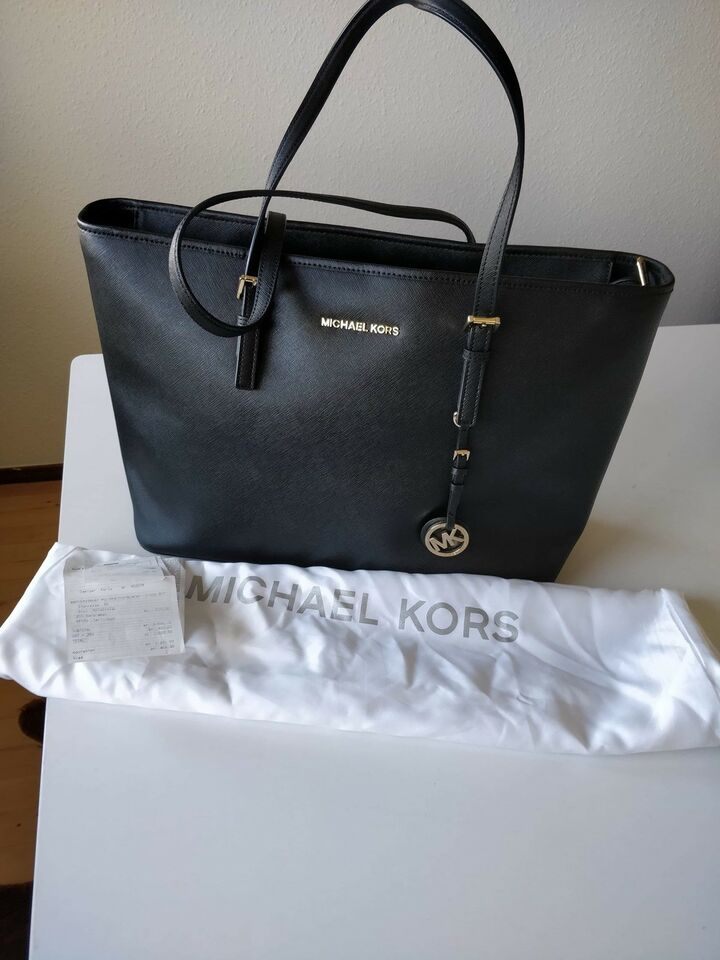 Shopper, Michael Kors, læder