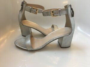b5e0d3ae0b3 New! Cole Haan Clarette Sandal II (W09691) Color Silver Leather size ...