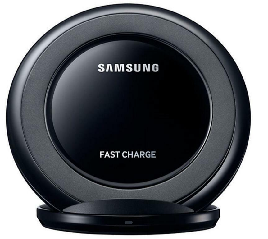 qi wireless fast charger charging pad stand dock for. Black Bedroom Furniture Sets. Home Design Ideas